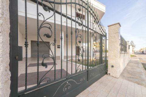 Pierpaolo's House – Wrought iron gate and fence