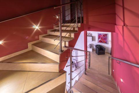 Lucia's House – Railing