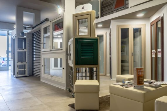 Showroom GP Serramenti - infissi