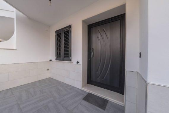 Porta blindata, persiana